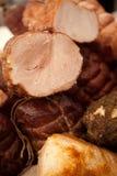 Σπιτικό μαγειρευμένο και καπνισμένο ζαμπόν Στοκ φωτογραφία με δικαίωμα ελεύθερης χρήσης