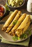 Σπιτικό μεξικάνικο βόειο κρέας Taquitos Στοκ εικόνες με δικαίωμα ελεύθερης χρήσης