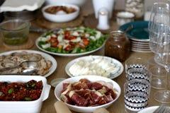 Σπιτικό μεσημεριανό γεύμα στοκ εικόνες
