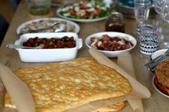 Σπιτικό μεσημεριανό γεύμα στοκ εικόνα με δικαίωμα ελεύθερης χρήσης