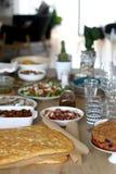 Σπιτικό μεσημεριανό γεύμα στοκ φωτογραφία με δικαίωμα ελεύθερης χρήσης
