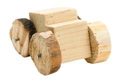 σπιτικό παιχνίδι αυτοκινήτων ξύλινο Στοκ εικόνες με δικαίωμα ελεύθερης χρήσης