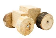 σπιτικό παιχνίδι αυτοκινήτων ξύλινο Στοκ Φωτογραφία