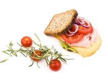 σπιτικό σάντουιτς Στοκ εικόνα με δικαίωμα ελεύθερης χρήσης