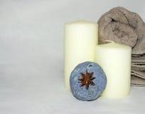 σπιτικό σαπούνι λουτρών Στοκ φωτογραφίες με δικαίωμα ελεύθερης χρήσης
