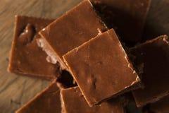 Σπιτικό σκοτεινό φοντάν σοκολάτας Στοκ φωτογραφία με δικαίωμα ελεύθερης χρήσης