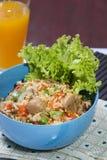 Σπιτικό τηγανισμένο ρύζι Στοκ φωτογραφία με δικαίωμα ελεύθερης χρήσης