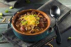 Σπιτικό τσίλι Con Carne βόειου κρέατος Στοκ Φωτογραφία