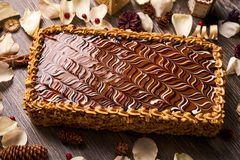 σπιτικό φυστίκι κέικ Στοκ φωτογραφίες με δικαίωμα ελεύθερης χρήσης