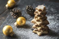 Σπιτικό χριστουγεννιάτικο δέντρο Στοκ φωτογραφία με δικαίωμα ελεύθερης χρήσης