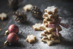 Σπιτικό χριστουγεννιάτικο δέντρο Στοκ φωτογραφίες με δικαίωμα ελεύθερης χρήσης