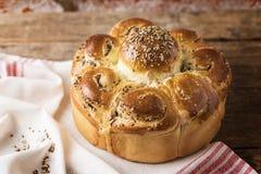 Σπιτικό ψωμί διακοπών στοκ φωτογραφία με δικαίωμα ελεύθερης χρήσης