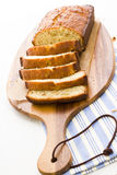 Ψωμί μπανανών Στοκ Φωτογραφίες
