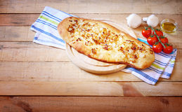 Σπιτικό ψωμί foccacia Στοκ Εικόνα