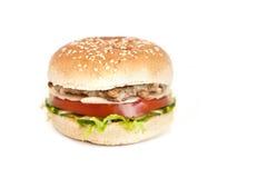 Σπιτικό burger Στοκ φωτογραφία με δικαίωμα ελεύθερης χρήσης