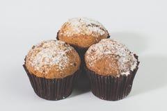 Σπιτικό Muffin κολοκύθας φθινοπώρου έτοιμο να φάει Στοκ Φωτογραφία