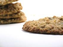 σπιτικό oatmeal μπισκότων Στοκ φωτογραφίες με δικαίωμα ελεύθερης χρήσης