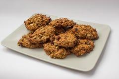 σπιτικό oatmeal μπισκότων στοκ εικόνες με δικαίωμα ελεύθερης χρήσης