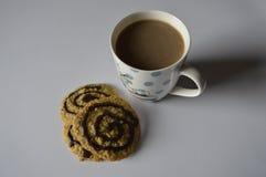 σπιτικό oatmeal μπισκότων Στοκ Εικόνα