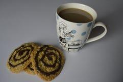 σπιτικό oatmeal μπισκότων Στοκ Φωτογραφία