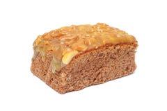 Σπιτικό toffee κέικ Στοκ φωτογραφία με δικαίωμα ελεύθερης χρήσης