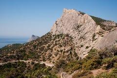 σπονδυλική στήλη βουνών Στοκ φωτογραφία με δικαίωμα ελεύθερης χρήσης
