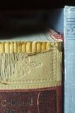 Σπονδυλική στήλη του χαλασμένου βιβλίου Στοκ Εικόνα