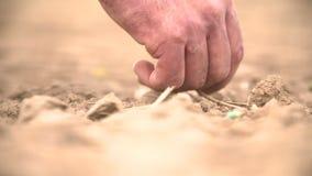 Σπορά χεριών της Farmer φιλμ μικρού μήκους