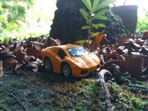 Σπορ αυτοκίνητο die-cast στοκ φωτογραφίες