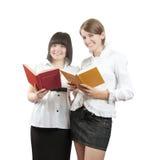 σπουδαστές βιβλίων στοκ φωτογραφία με δικαίωμα ελεύθερης χρήσης