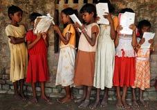 σπουδαστές κοριτσιών Στοκ Φωτογραφία