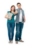 Σπουδαστές που εμφανίζουν αντίχειρας-επάνω στοκ εικόνες με δικαίωμα ελεύθερης χρήσης