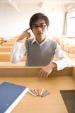 σπουδαστές της Κίνας Στοκ Εικόνες