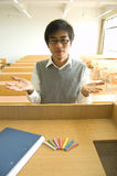 σπουδαστές της Κίνας Στοκ Φωτογραφίες