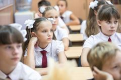 Σπουδαστές του δημοτικού σχολείου στοκ εικόνα με δικαίωμα ελεύθερης χρήσης