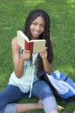σπουδαστής ανάγνωσης Στοκ εικόνα με δικαίωμα ελεύθερης χρήσης