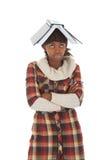 σπουδαστής βιβλίων Στοκ φωτογραφίες με δικαίωμα ελεύθερης χρήσης