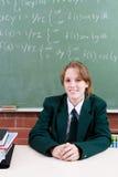 σπουδαστής γυμνασίου Στοκ Φωτογραφία