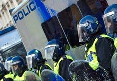 σπουδαστής διαμαρτυρίας Στοκ Φωτογραφία