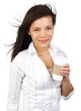 σπουδαστής καφέ στοκ εικόνα