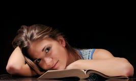 σπουδαστής κουρασμένο&si Στοκ φωτογραφία με δικαίωμα ελεύθερης χρήσης