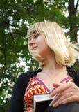 σπουδαστής πορτρέτου Στοκ φωτογραφία με δικαίωμα ελεύθερης χρήσης
