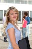 σπουδαστής πορτρέτου Στοκ Εικόνα