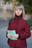 σπουδαστής πορτρέτου Στοκ εικόνες με δικαίωμα ελεύθερης χρήσης