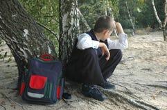 σπουδαστής φυγόπονος Στοκ φωτογραφία με δικαίωμα ελεύθερης χρήσης