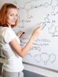 σπουδαστής χημικών Στοκ φωτογραφία με δικαίωμα ελεύθερης χρήσης