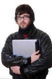 σπουδαστής lap-top Στοκ Εικόνα