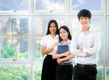 Σπουδαστές της Ασίας Στοκ φωτογραφία με δικαίωμα ελεύθερης χρήσης