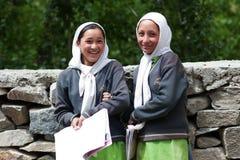 Σπουδαστές Balti, Ινδία Στοκ φωτογραφία με δικαίωμα ελεύθερης χρήσης
