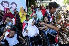 Σπουδαστής ανάπηρος στοκ εικόνα με δικαίωμα ελεύθερης χρήσης